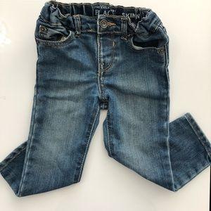 🌈 Toddler Sand Wash Skinny Jeans 2T
